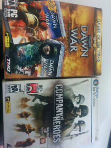 PC Games. Dawn of War Gold Edition, Company of Heros