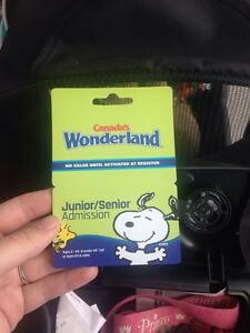 Canada's wonderland child day pass