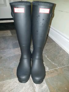 Hunter Rain boots size7