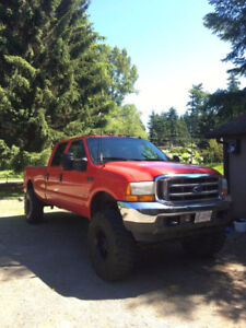 2001 Ford F-350 7.3 Diesel Lifted