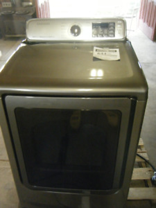 New Samsung 7.4 Cu. Ft. Electric Steam Dryer Or Washer