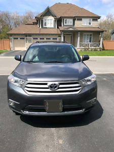 2012 TOYOTA HIGHLANDER AWD LOW KMS