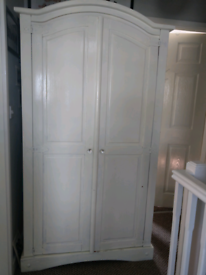 Wardrobe, chest drawers and desk