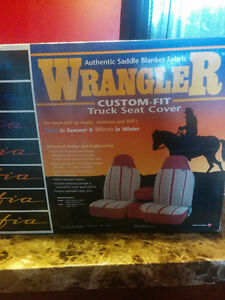 Wrangler custom fit truck seat cover
