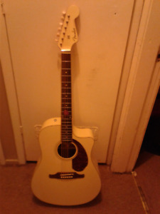 Electric Acoustic Guitar  (Fender Sonoran)