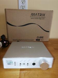 Matrix Cube Headphone  DAC/Amp