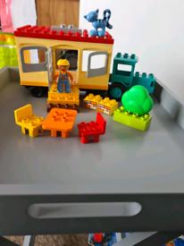 Lego duplo Bob the builder Travis and the mobile caravan set complete