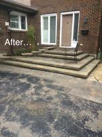Landscaping / Interlock / Retaining Wall / Home repairs