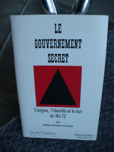 LE GOUVERNEMENT SECRET ( RICHARD GLENN )