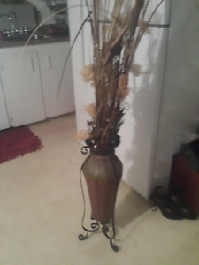 for sale plant decor and old touch phone