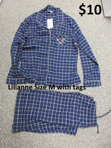 Lilianne Pajamas Size M - New with tags