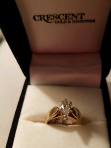Engagement ring.75 SI quality