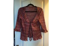 Rusty colours top size 12