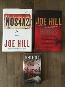JOE HILL books for sale