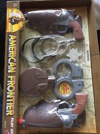 American frontier play set brand new