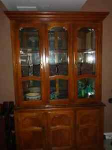 Beautiful Glass Hutch