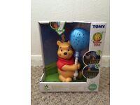 Winnie the Pooh balloon lightshow