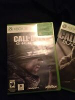 Cod ghost and black oops 2 $25