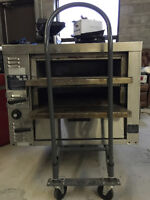 LIKE NEW Stainless Steel BAKERS PRIDE Gas Pizza Oven