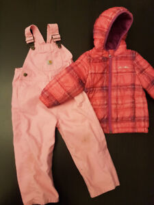 2T Carhartt coverall and Eddie Bauer Coat
