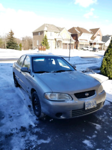 2001 Nissan sentra 1.8L 137000km only !!! Need gone asap!!!