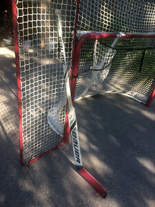 REDUCED Bauer Reactor 4000 Senior Goalie Stick