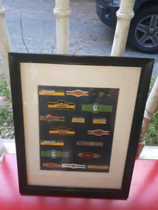 Framed cuban cigar brands