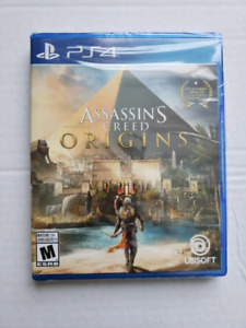 Assassin's Creed Origins (PS4) - $70 (Brand New Sealed)