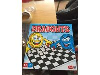Draughts board game