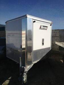 2013 Enclosed Triton Sled Trailer