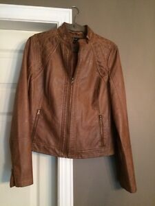 Lord and Taylor Fitted Faux Leather Jacket New Kitchener / Waterloo Kitchener Area image 1