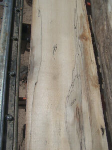 fireplace mantel spalted poplar grey wood London Ontario image 8