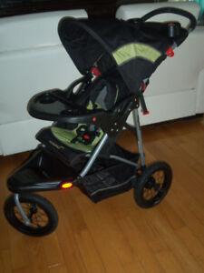 Poussette 3 roues jogging roller