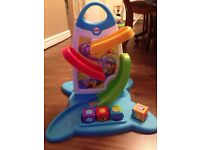 Fisher Price roller block wall