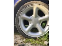 Escort cosworth alloy wheels