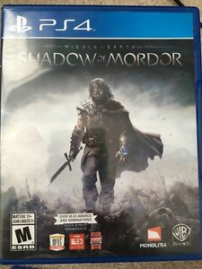 Ps4 Shadow of mordor, MINT