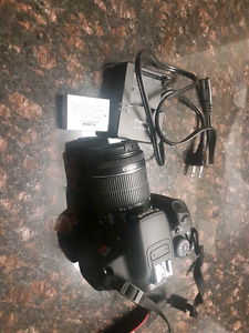 Canon Eos Rebel T5i and EF-S 18-55 mm lens