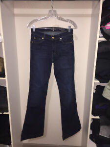 Size 26 Seven for All Mankind Slim Trouser