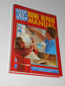 Step-by-Step Home Repair Manual (380 pages)