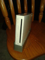 Wii console + few games