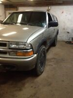 2000 Chevy s10 4x4 with rebuilt motor