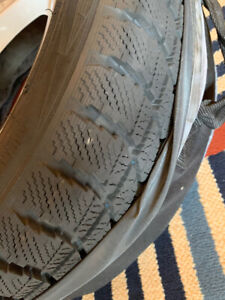 """Audi 16"""" alloy wheels and winter tires for sale"""