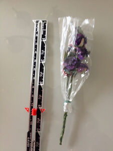 minature purple rose crafting flowers Strathcona County Edmonton Area image 2