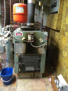 wood hot water boiler