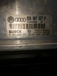 Audi ECU with 17lbs boost for B5