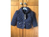 Ralph Lauren quilted jacket age 3T brand new with tag
