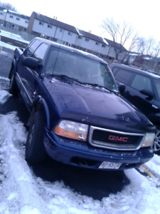 2002 Sonoma GMC 4 door pickup