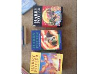 First edition Harry Potter bookd