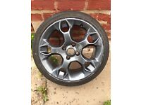 Ford Fiesta Zetec s alloy wheel X1