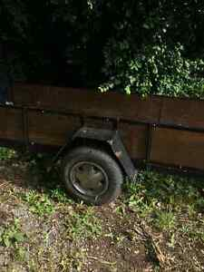 Utility trailer 4 x14 ft great for 2 atvs Kingston Kingston Area image 3